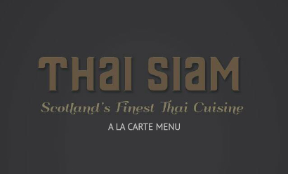 thai siam main menu